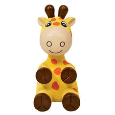 Hundleksak KONG Wiggi Giraffe L
