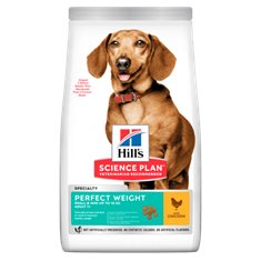 Hills Hund Adult Perfect Weight Small/Mini Chicken         5kg