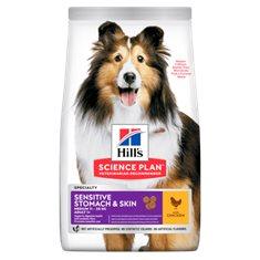 Hill`s Hund Sen.Stomach/Skin M Chicken