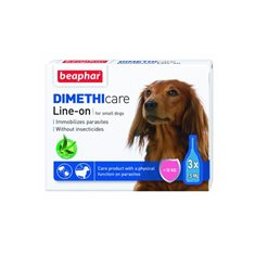 Beaphar Flea & Tick Line on Small dog