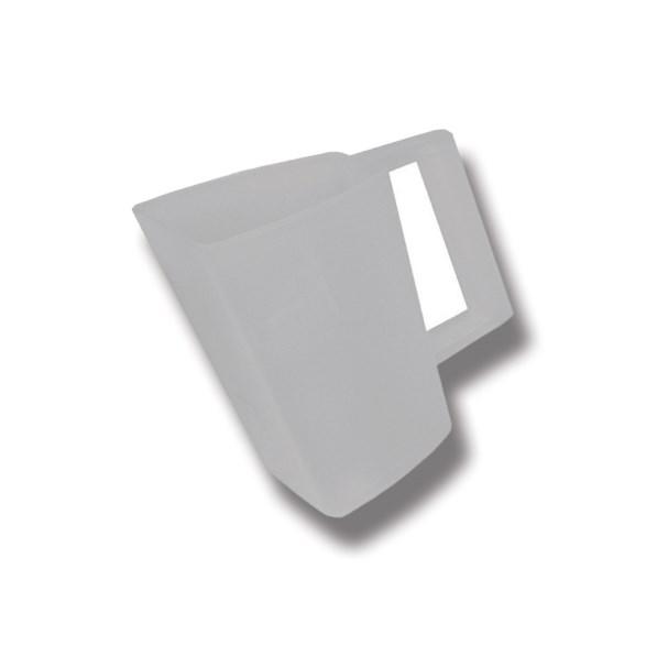Foderskopa plast 2 l transp