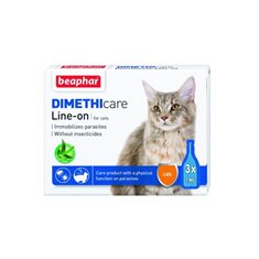 Beaphar Flea & Tick Line Cat x3