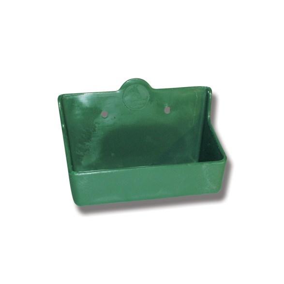 Saltstenshållare box plast grön