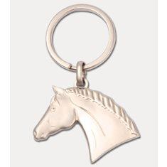 Nyckelring hästhuvud 3D