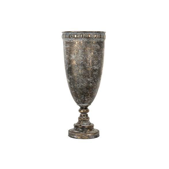 Pokal Siri antik mässing 21,5x51cm