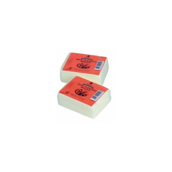 Svamp för lädervård 10x7 cm