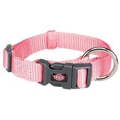 Hundhalsband Nylon rosa