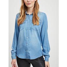 Skjorta Bista  Medium blue denim
