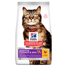 Hills Katt Sensitive Stomach & Skin Kyckling
