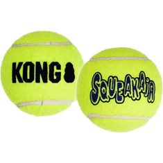 Hundleksak Kong Tennisboll squeaker 2-p
