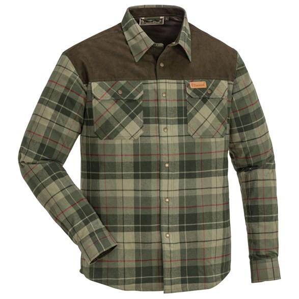 Skjorta Douglas  grön/mgrön