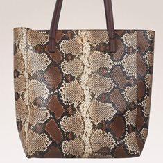 Kasse snake brun