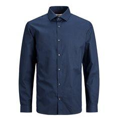 Skjorta Viggo Dobby  Navy blazer
