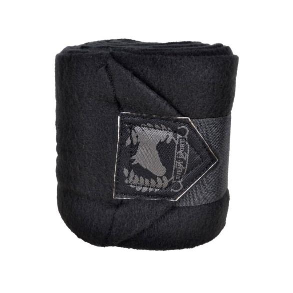 Benlinda fleece Basic 4-p svart 4 m