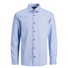 Skjorta Viggo Dobby Cashmere blue