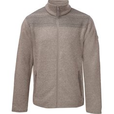 Jacka F.Fleece H Lt Grey
