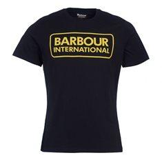 Top B.Intl Essential Large logo Black/yellow