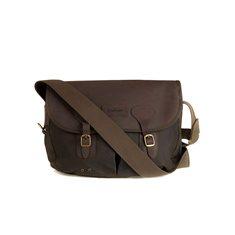 Väska Leather Tarras Olive
