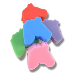 Svamp hästhuvud mix färger