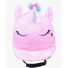 Hjälmöverdrag Unicorn pink