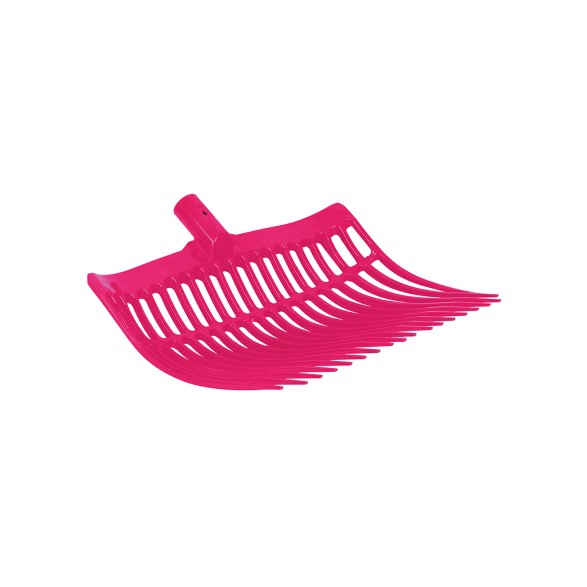 Grephuvud plast okrossbar rosa