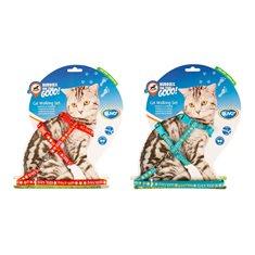 Kattsele+koppel Cool Cats