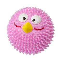 Hundleksak Taggig Fågel jordgubbs smak rosa