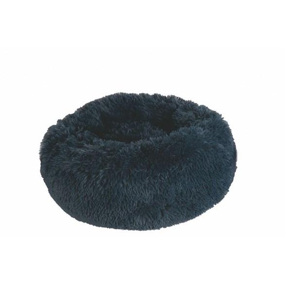 Hundbädd Fluffy Mörkgrå