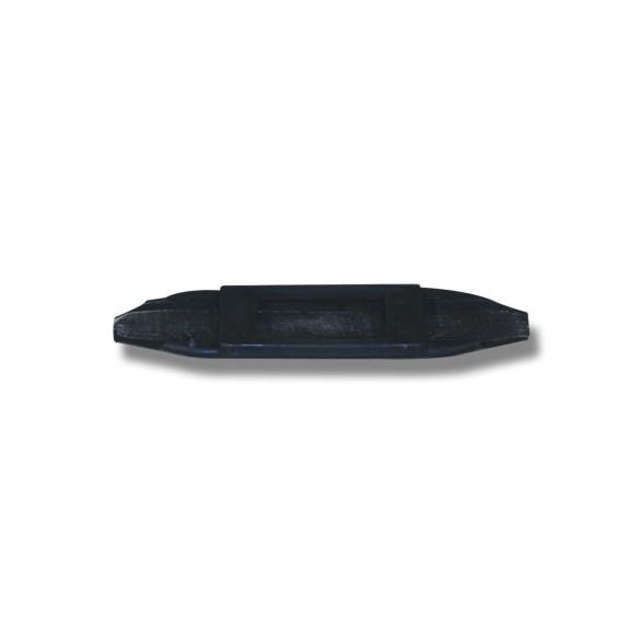 Kindkedjetunnel gummi svart