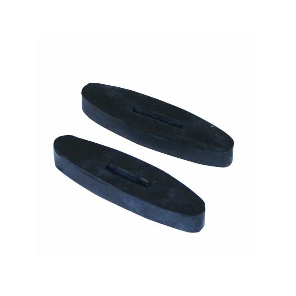 Tygelstopp Full svart par