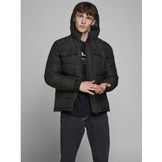 Jacka Regan Puffer Black