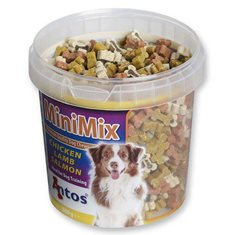 Hundgodis mini mix 500 g burk