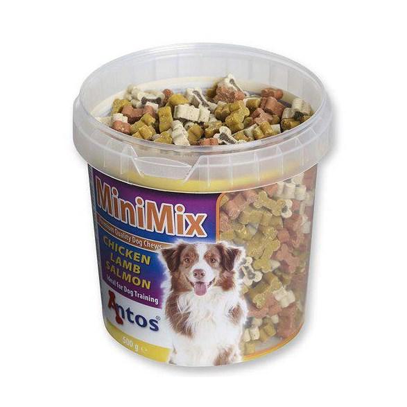 Hundgodis mini mix 500 g burk