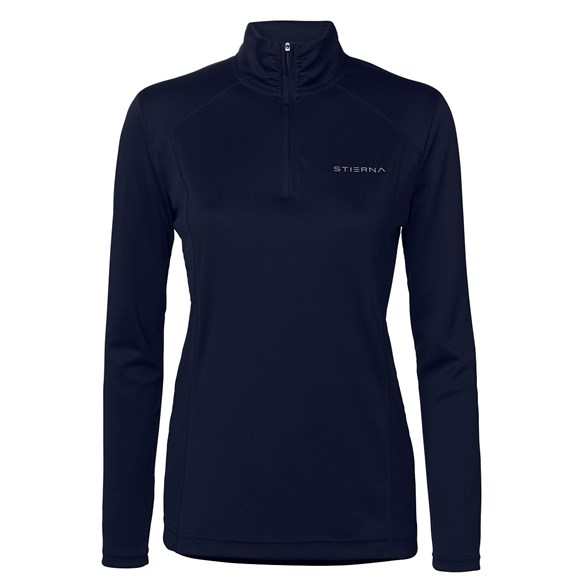 Tröja Halo 1/2 zip LS dark navy