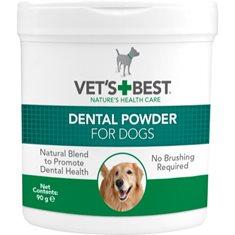 Vets Best tandplejepulver hund 90gr