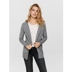 Cardigan Lesly Medium grey melange