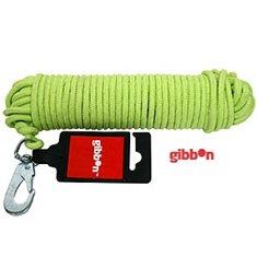 Spårlina Grön mjuk nylon 15M/6mm