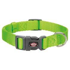 Hundhalsband Nylon ljusgrön