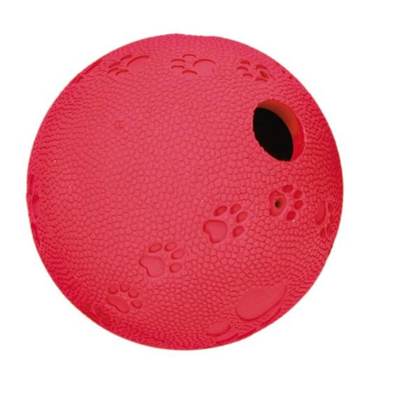 Hundleksak Snackboll gummi labyrint 11cm
