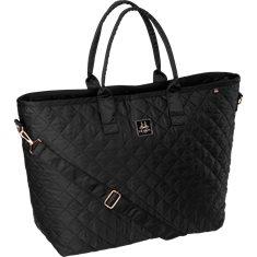 Väska Glossy Shopper Black