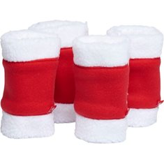 Jul benskydd 4st Röda