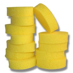 Tvättsvamp Oval gul
