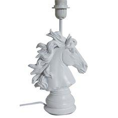 Lampfot Häst H45 vit