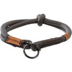 Halsband mgrå/brun