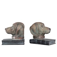 Bokstöd Hund 15x16,5cm