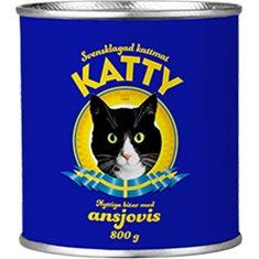 Katty burkmat Fisk 810g