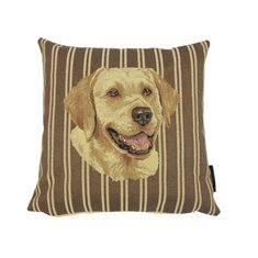 Kudde Gobelin Stripe Golden retriever 33x33