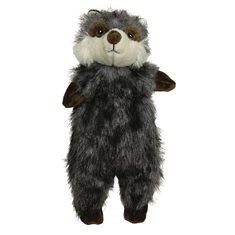 Hundleksak Plysch Skinneez Furry Tvättbjörn