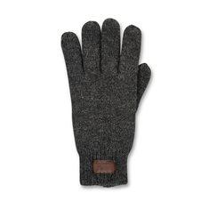 Handske stickad Purnu  Graphite