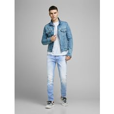 Jeans Glenn  Blue denim